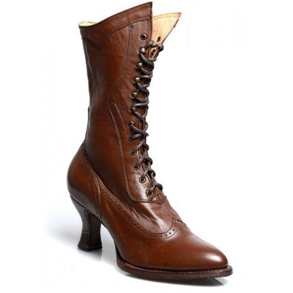 Women's Fashion Victorian Style Lace Up