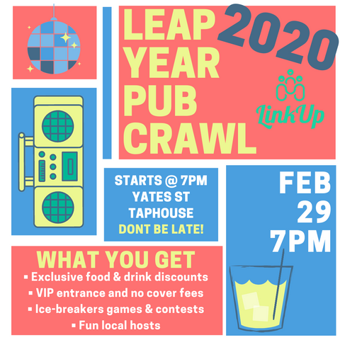 Leap Year Pub Crawl YYJ 2020