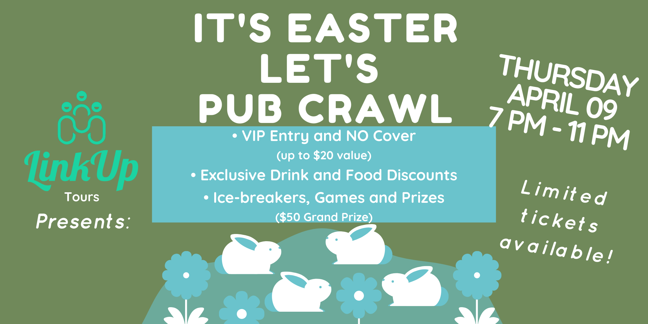 Easter Pub Crawl