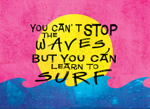 Wood Frame - Beach - Learn To Surf