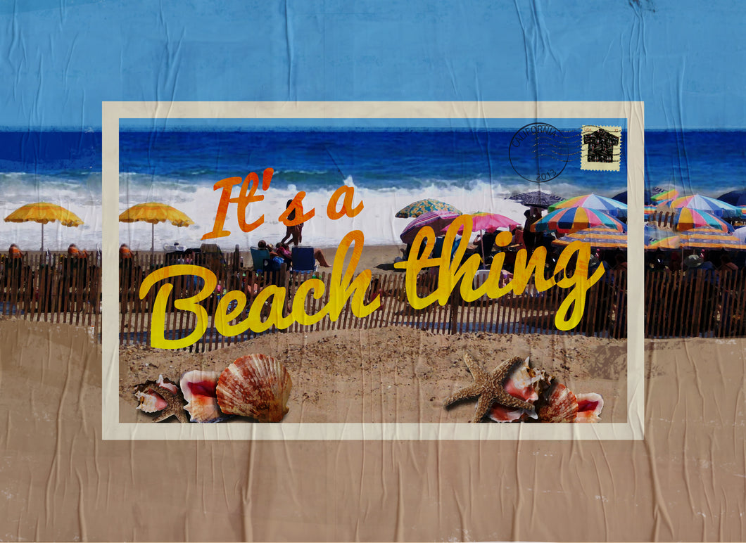 Wood Frames - Beach - It's A Beach Thing