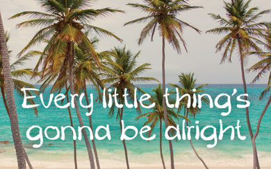 Wood Frames - Beach - Every Little Things Gonna Be Alright