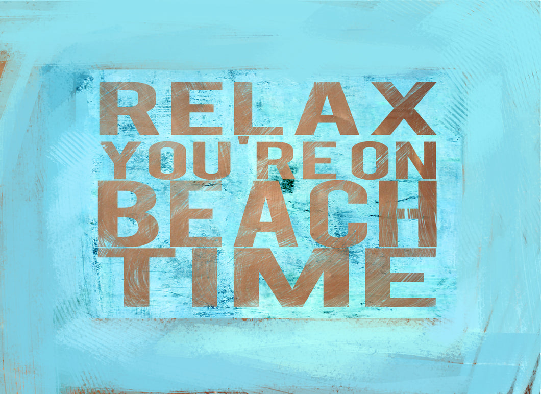 Wood Frames - Beach - Relax Beach Time