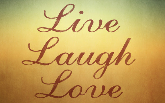Wood Frames - Decor - Life Laugh Love