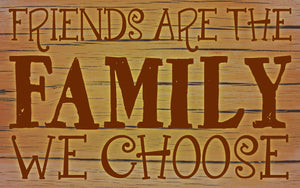 Wood Frames - Decor - Friends Are The Family We Choose