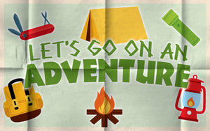 Wood Frames - Outdoor - Let's Go On An Adventure