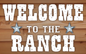 Wood Frames - Western - Welcome To The Ranch