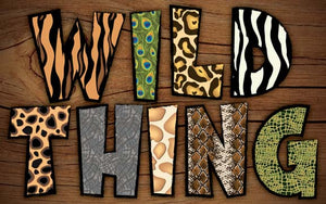 Wood Frames - Zoo - Wild Thing
