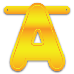 Build-A-Giant-Banner Letter A