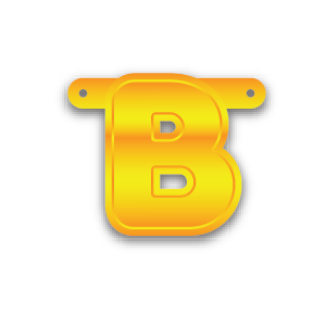 Build-A-Banner Letter B