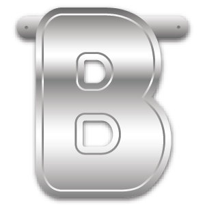 Build-A-Giant-Banner Letter B