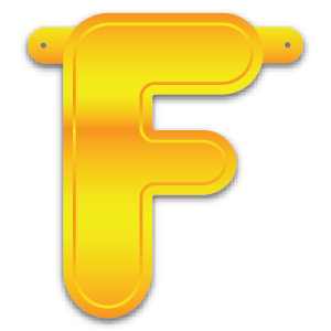 Build-A-Giant-Banner Letter F