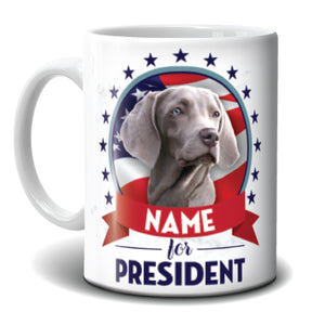 Mug - My Dog for President
