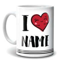 Load image into Gallery viewer, Mug - I Love Name - 2