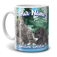 Load image into Gallery viewer, Mug - Two Bears