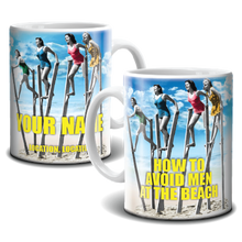 Load image into Gallery viewer, Mug - How To Avoid Men At The Beach
