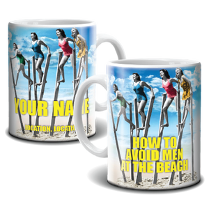 Mug - How To Avoid Men At The Beach