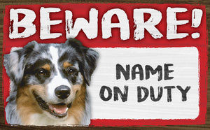 Beware of Dog Personalized