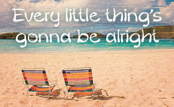 Wood Frames - Beach - Every Little Things Gonna Be Alright 2