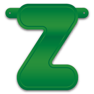 Build-A-Giant-Banner Letter Z