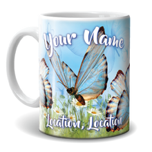 Load image into Gallery viewer, Mug - Butterflies