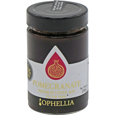 Pomegranate Jam 85% Fruit 230g