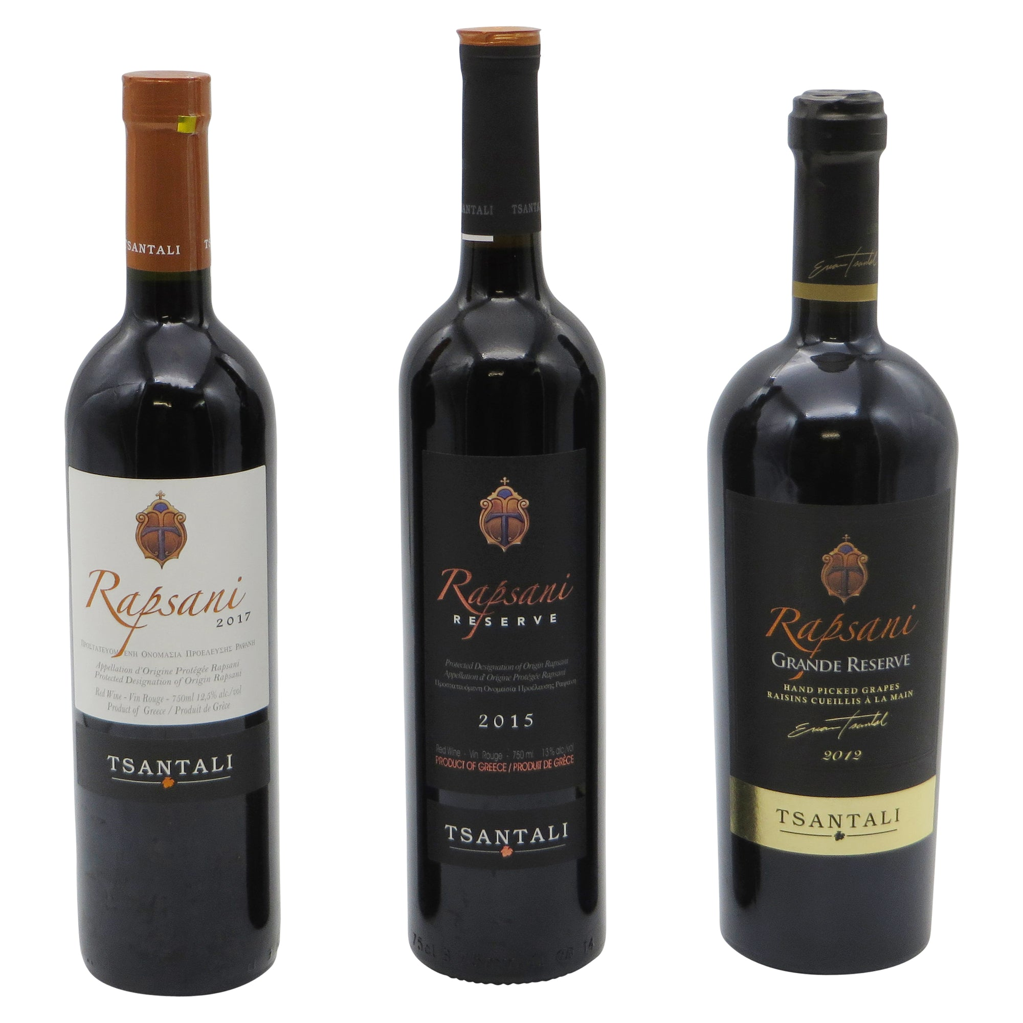 Rapsani tasting pack of 3 wines