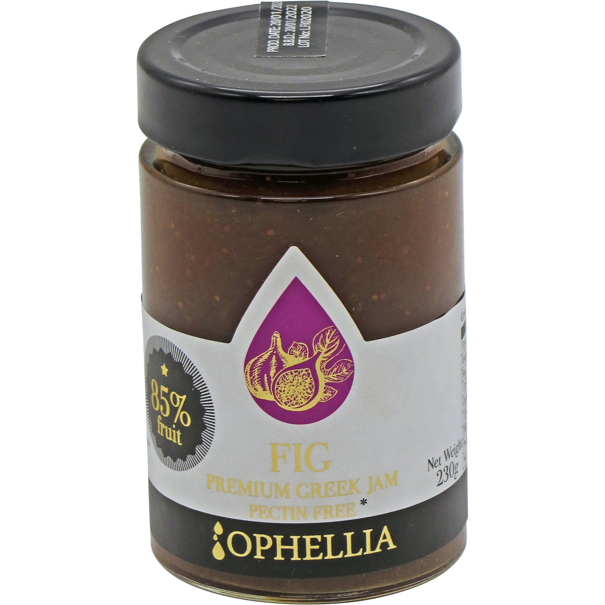 Fig Jam 85% Fruit 230g