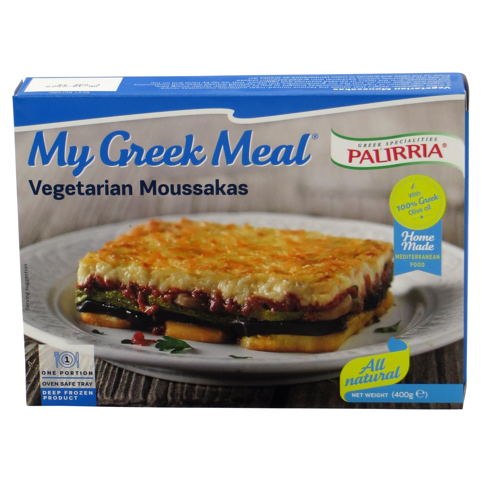 'My Greek Meal' Vegetarian Moussakas 400g