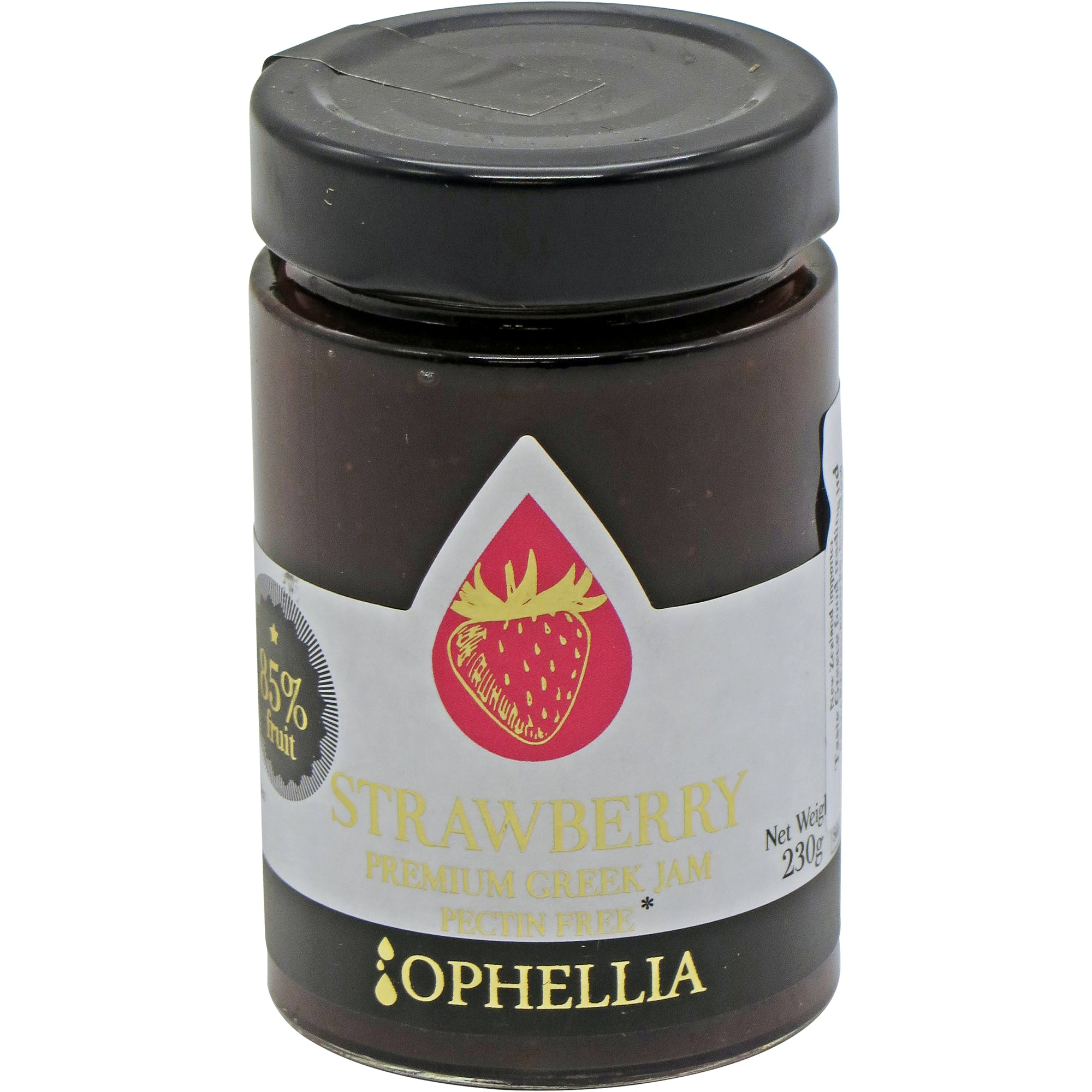 Strawberry Jam 85% Fruit 230g