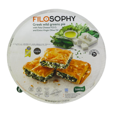 Wild Greens pie with feta & EVOO 850g