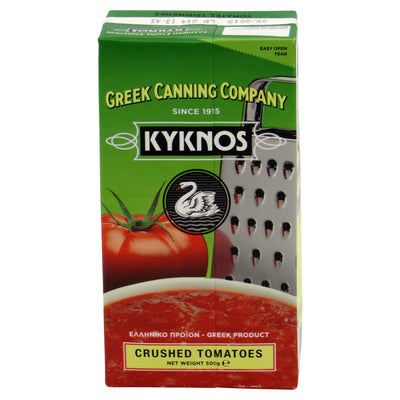 Crushed tomatoes in carton 500g