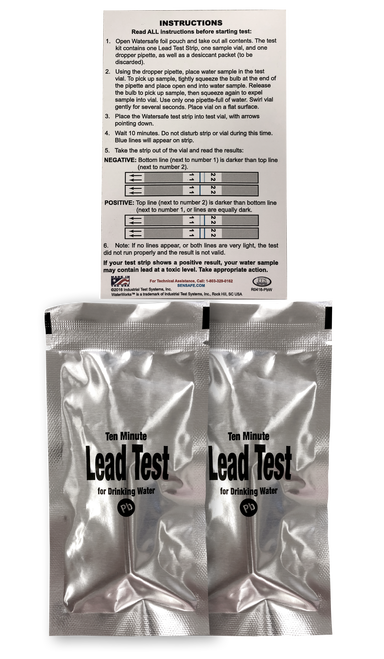 Quick™ Lead Water Test (2 Tests)