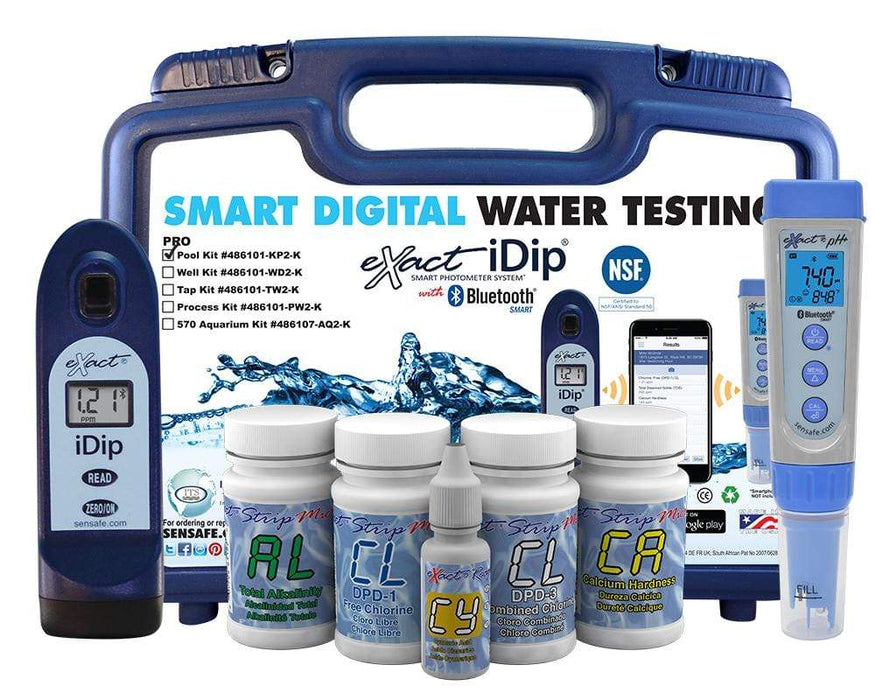ITS Europe eXact iDip® Pool Professional Test Kit