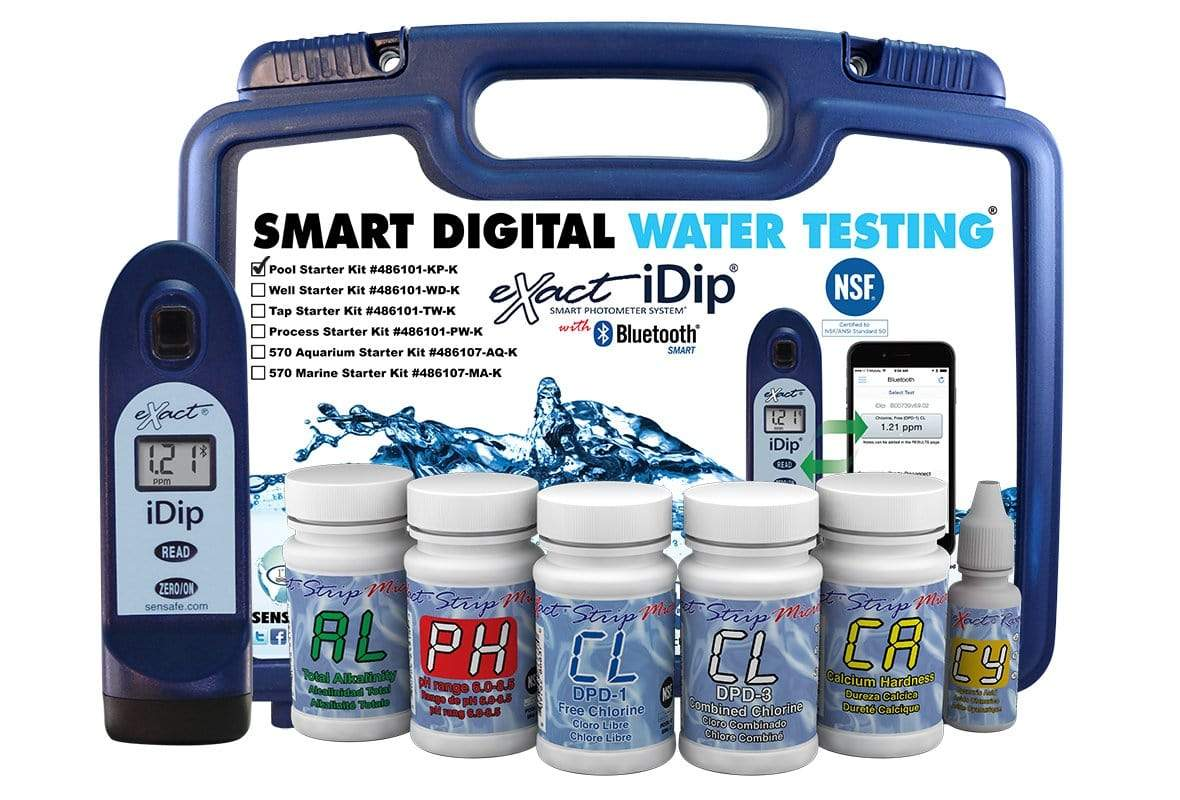 ITS Europe eXact iDip® Pool Starter Test Kit