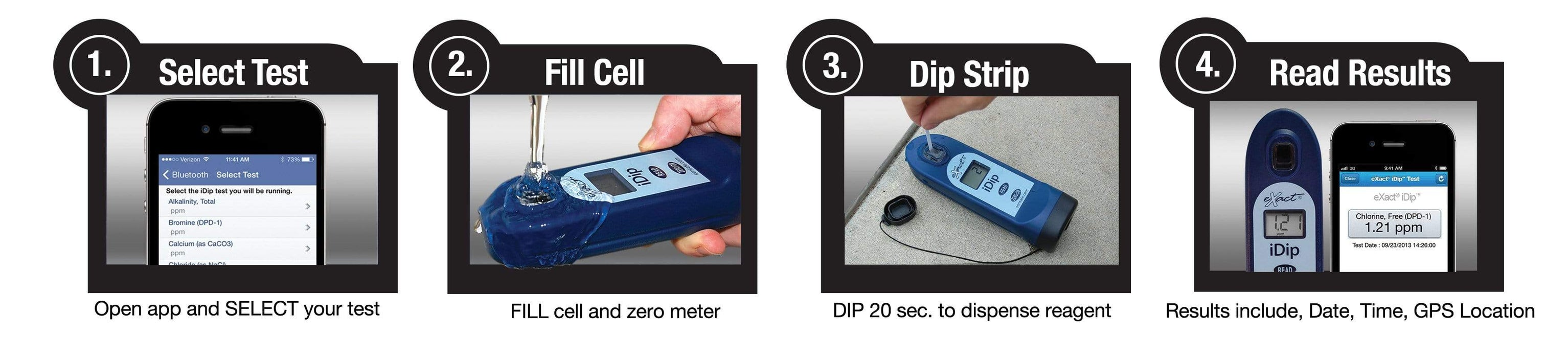 ITS Europe eXact iDip® Tap Water Professional Test Kit