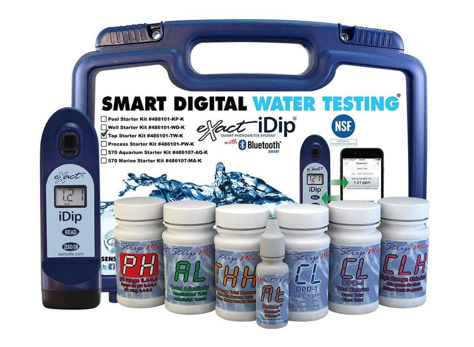ITS Europe eXact iDip® Tap Water Test Kit