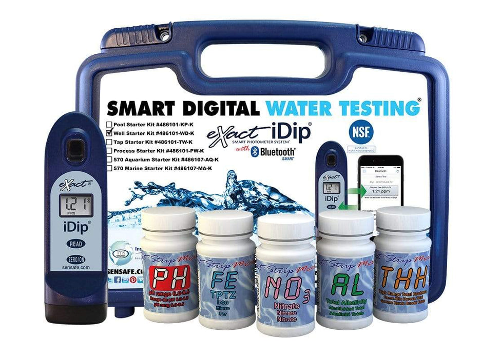 ITS Europe eXact iDip® Well Driller Starter Test Kit
