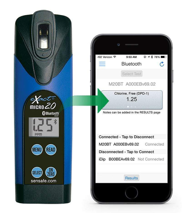 ITS Europe eXact® Micro 20 with Bluetooth® Photometer
