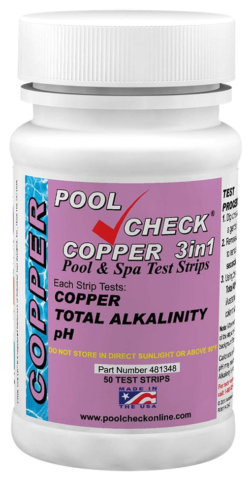 ITS Europe PoolCheck® Copper 3in1
