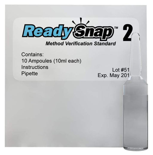 ITS Europe ReadySnap® 2 Method Verification Solution