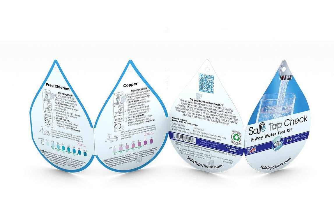 ITS Europe Safe Tap Check 9-Way Water Test Kit
