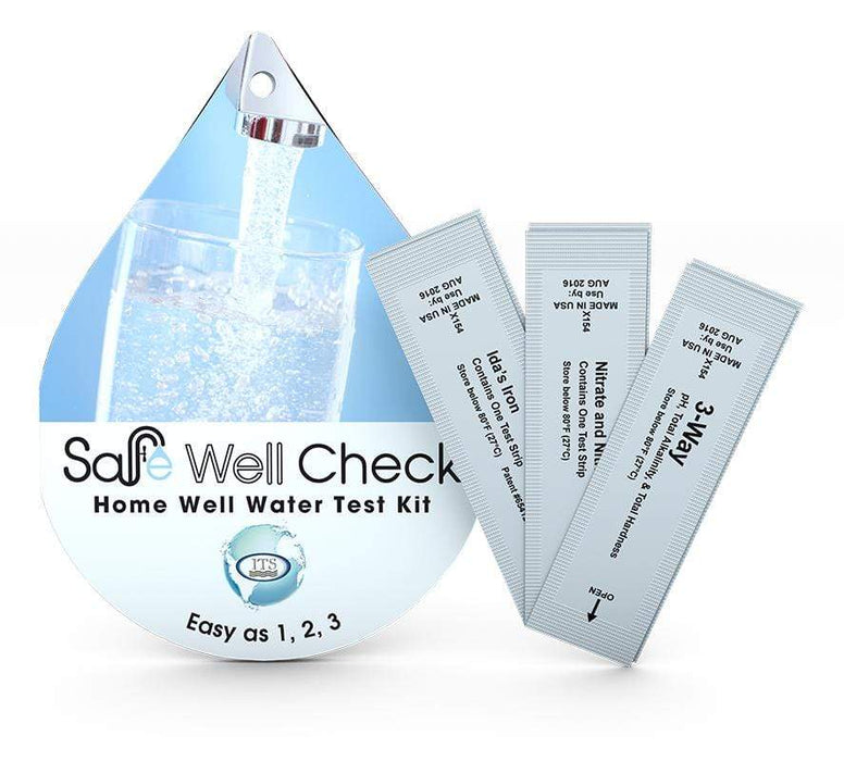 ITS Europe Safe Well Check Home Well Water Test Kit