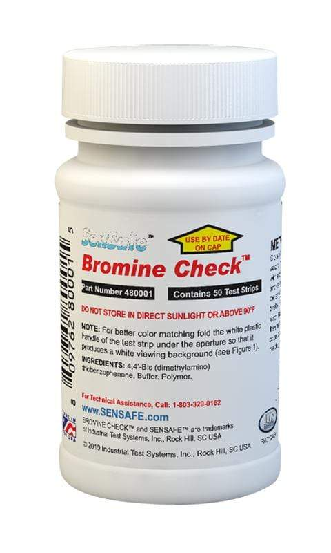 ITS Europe Visual Test SenSafe® Bromine Check