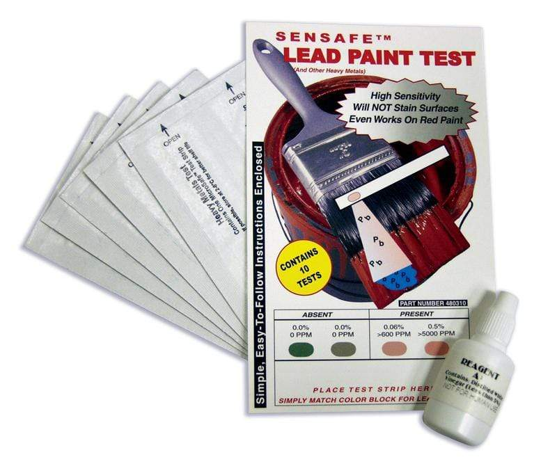 ITS Europe SenSafe® Lead Paint Test