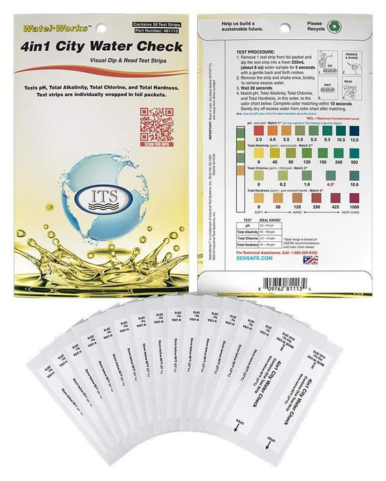 ITS Europe WaterWorks™ 4in1 City Check Eco Packs