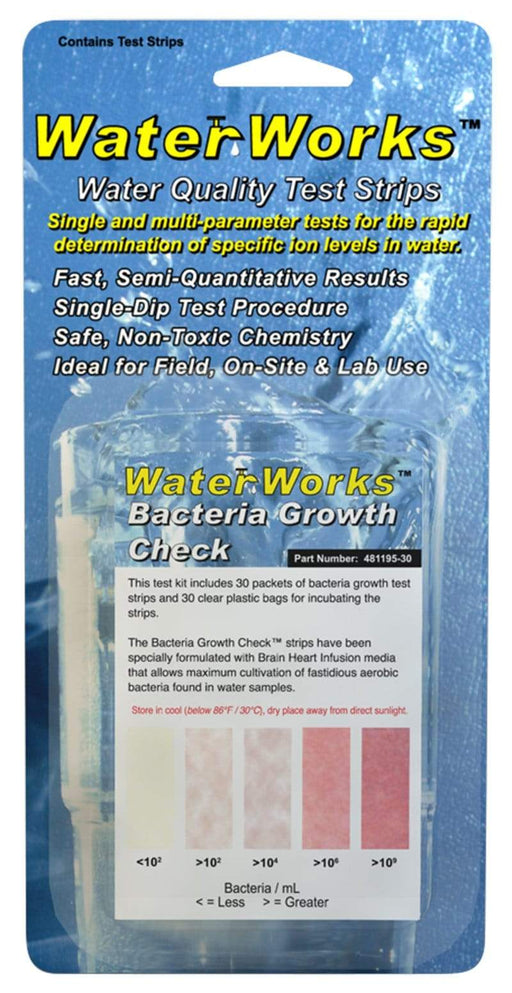 ITS Europe WaterWorks™ Bacteria Growth Check