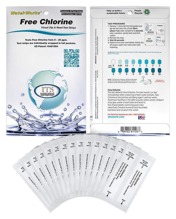 ITS Europe WaterWorks™ Free Chlorine Eco Packs