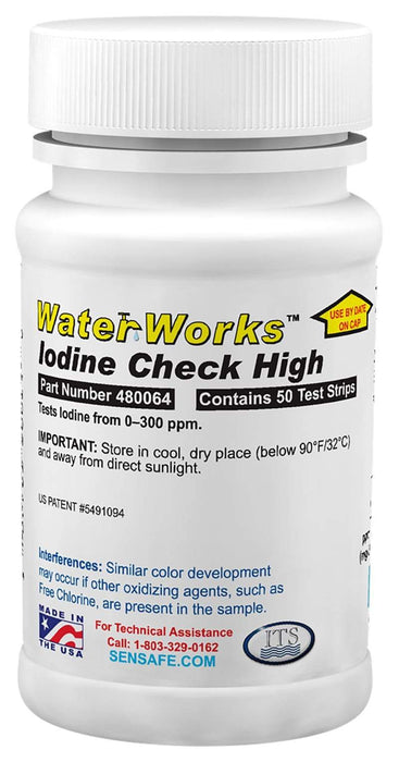 ITS Europe WaterWorks™ Iodine Check