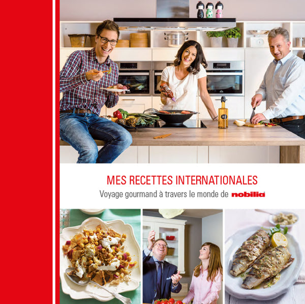 "Cookbook ""MES RECETTES INTERNATIONALES"" (FR)"